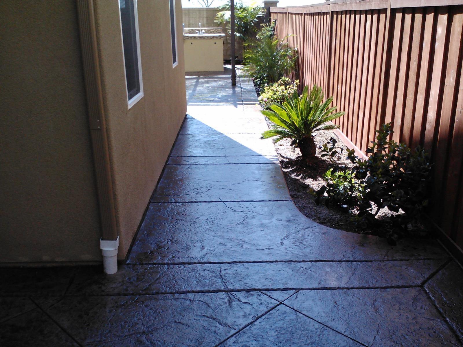 Sidewalk Concrete Contractor Temecula, Pathway Walkway Concrete Company